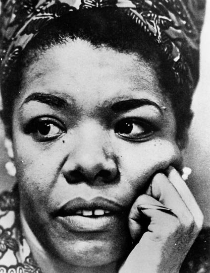 the early life and works of maya angelou Maya angelou dared to discuss her personal life in public when not many could even think of doing it she was one of the first african american women to achieve so much recognition and become a pioneer of a new kind of autobiographer with i know why the caged bird sings.
