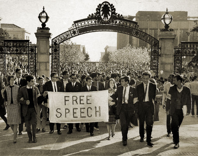 free speech movement of